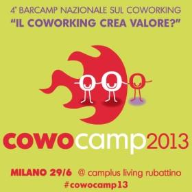 BarCamp Coworking Milano Giugno 2013 CowoCamp